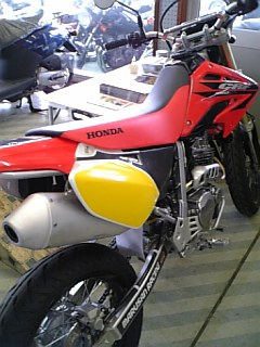 XR250モタード